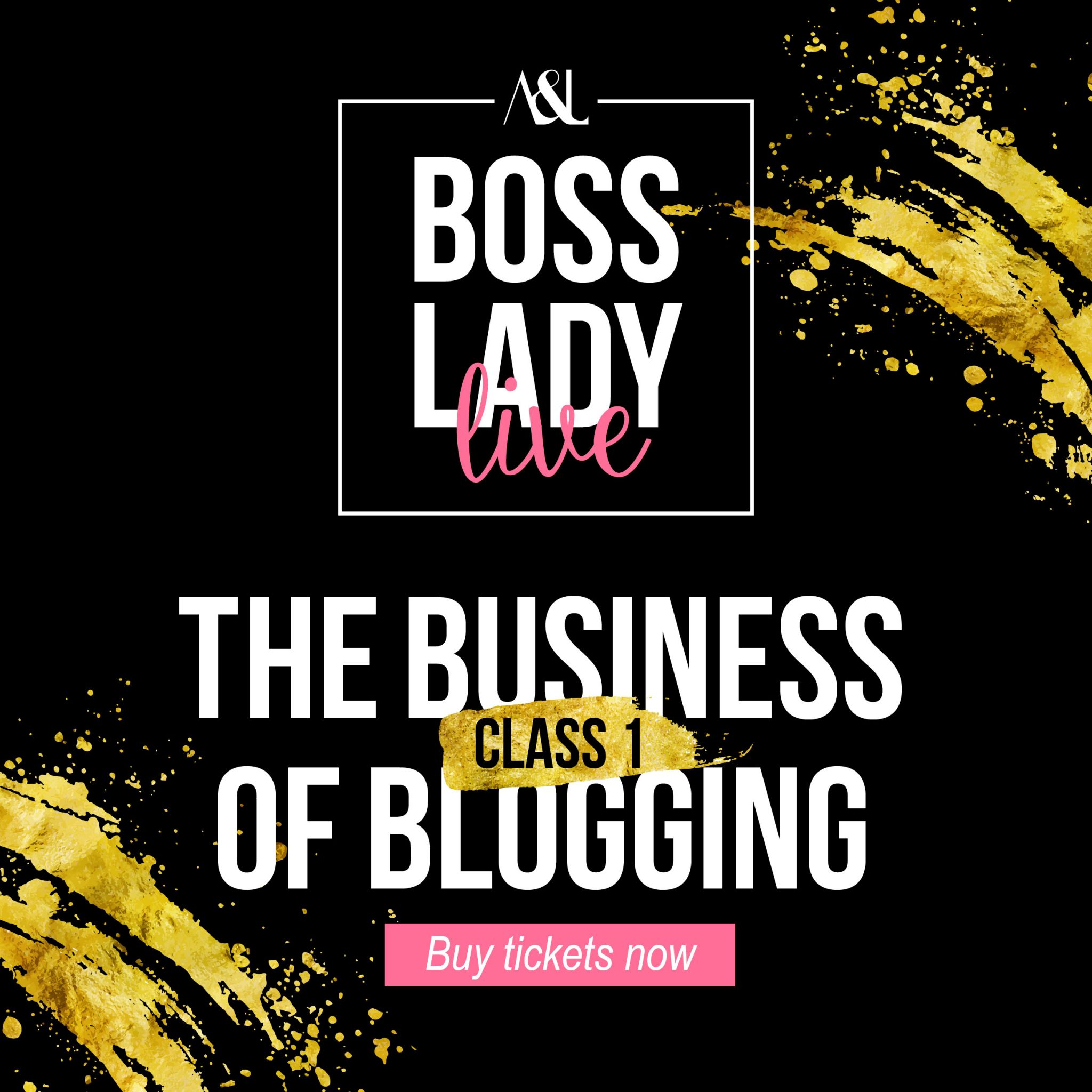 Aisha's Blogging Masterclass