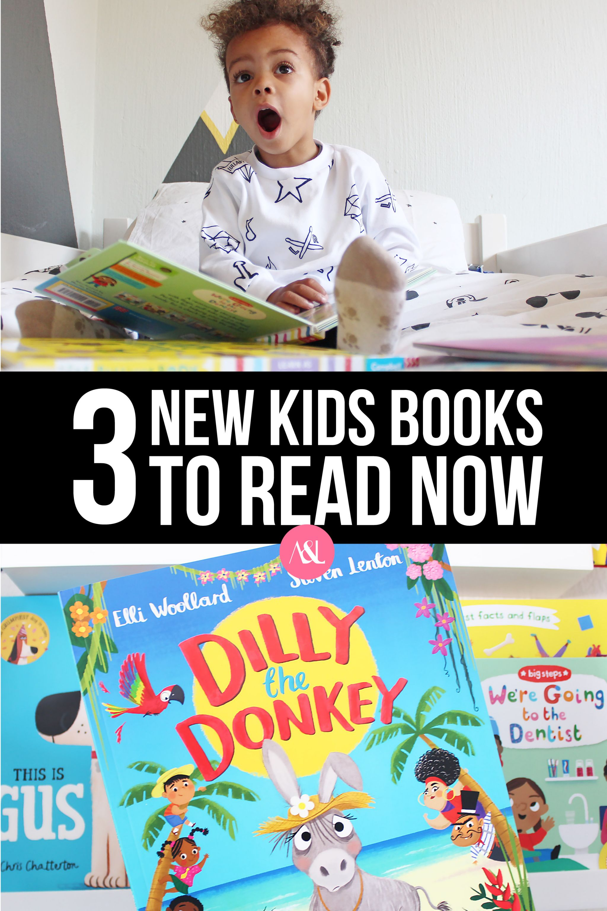 3 New Kids Books to Read Now. Looking for new books to read to your little one? I'm sharing three great new books perfect for toddlers.